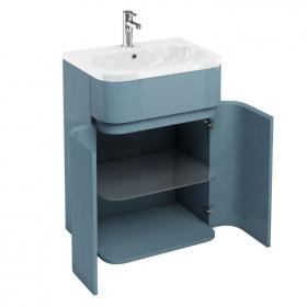 Aqua Cabinets D450 Gull Wing 600mm Ocean Unit & Basin
