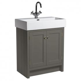 Photo of Roper Rhodes Hampton 700mm Pewter Vanity Unit and Basin