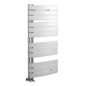 Hudson Reed Elgin Chrome 1080 x 550mm Heated Towel Rail