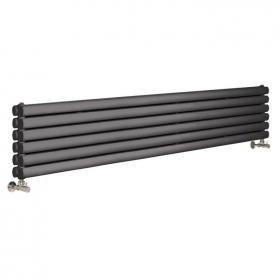 Photo of Hudson Reed Revive 1800mm Anthracite Horizontal Double Panel Radiator