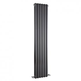 Photo of Hudson Reed Salvia 1800mm Anthracite Double Panel Column Radiator