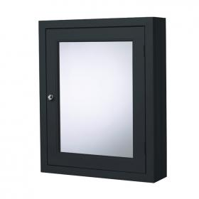 Photo of Roper Rhodes Hampton Slate Grey 565mm Mirrored Cabinet