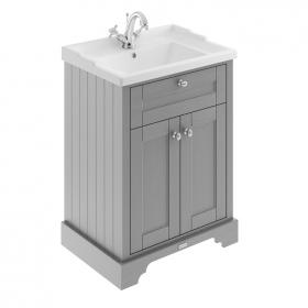 Photo of Old London Storm Grey 600mm Basin Unit