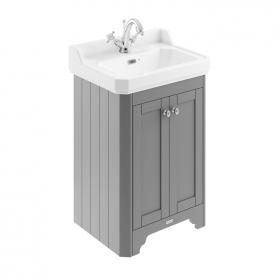 Photo of Old London Storm Grey 600mm Cloakroom Unit & Basin