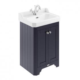 Photo of Old London Twilight Blue 600mm Cloakroom Unit & Basin