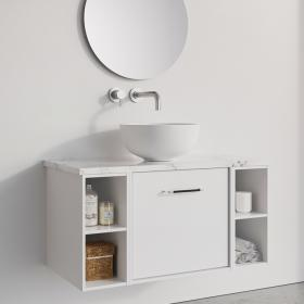 Photo of Crosswater Infinity 900mm White Gloss Single Drawer & Double Base Unit