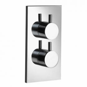 Pura Ivo Single Outlet Thermostatic Shower Valve