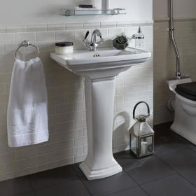 Photo of Imperial Radcliffe Medium 600mm Basin & Pedestal