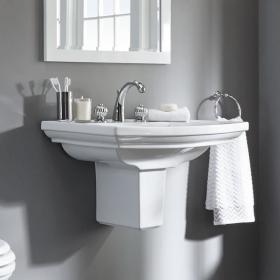 Photo of Imperial Radcliffe Large 685mm Basin & Semi Pedestal
