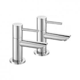 Photo of Pura Ivo Basin Pillar Taps