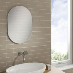 HIB Jessica Shaped Bathroom Mirror