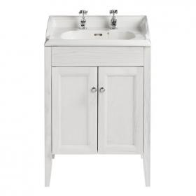 Photo of Heritage Dorchester Basin & Caversham Dove Grey Freestanding Unit