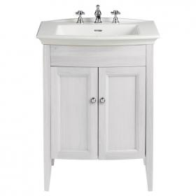Heritage Blenheim Basin & Freestanding Dove Grey Vanity Unit