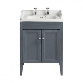 Heritage Dorchester Basin & Caversham Graphite Freestanding Unit