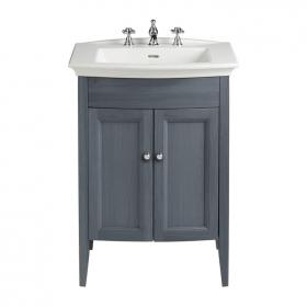 Heritage Blenheim Basin & Freestanding Graphite Vanity Unit