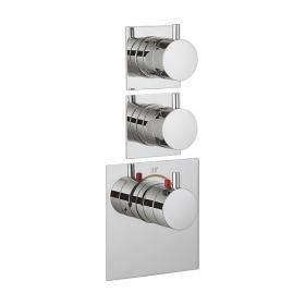 Crosswater Kai Lever Multiport Twin Control Thermostatic Shower Valve