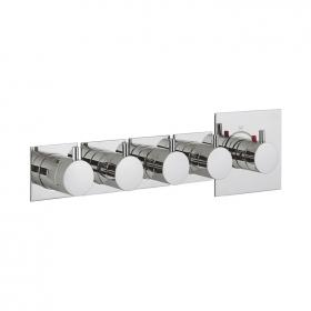 Crosswater Kai Lever Multiport Four Control Thermostatic Shower Valve