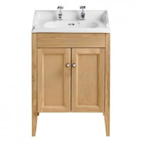 Heritage Dorchester Basin & Caversham Oak Freestanding Unit