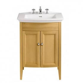 Heritage Blenheim Basin & Freestanding Oak Vanity Unit