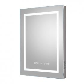 Hudson Reed Prisma LED Touch Sensor Mirror with Bluetooth