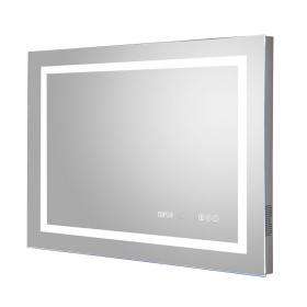 Hudson Reed Prisma 800mm LED Touch Sensor Mirror with Bluetooth