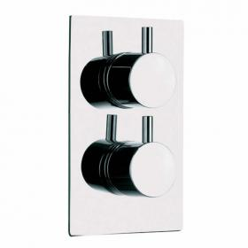 Pura Levo Thermostatic Single Outlet Shower Valve
