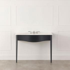 Victoria + Albert Lavello 1140mm Anthracite Vanity Basin Unit