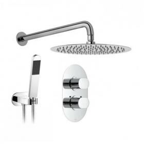 Vado Life Twin Outlet Thermostatic Shower Package