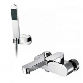 Photo of Vado Life Wall Mounted Bath Shower Mixer with Shower Kit