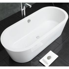 Photo of Waters Linear Marsh 1800mm Freestanding Bath