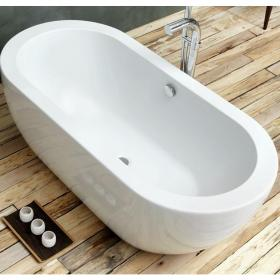 Photo of Waters Linear Willow 1690mm Freestanding Bath