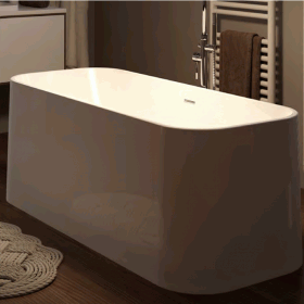 Mere Londra 1700 x 700 Double Ended Freestanding Bath