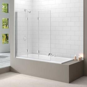 Photo of Merlyn MB9 Three Panel Folding Bath Screen