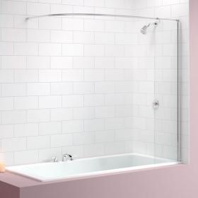 Photo of Merlyn MB5 Curtain Rail Bath Screen