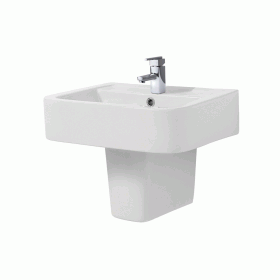 Photo of Phoenix Megan 550mm Basin & Semi-Pedestal