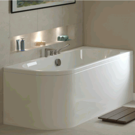Mere Angelo 1700 x 700 Single Ended Bath
