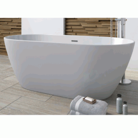 Mere Angelo 1680 x 800 Double Ended Freestanding Bath