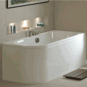 Mere Angelo 1600 x 700 Single Ended Bath