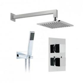Vado Mix2 Twin Outlet Thermostatic Shower Package