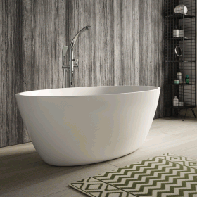 Hudson Reed Grace 1500 x 760mm Freestanding Bath