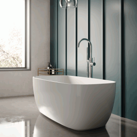 Hudson Reed Bella 1495 x 720mm Square Freestanding Bath