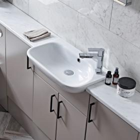 Roper Rhodes Note 540mm Slim Depth Semi Countertop Basin