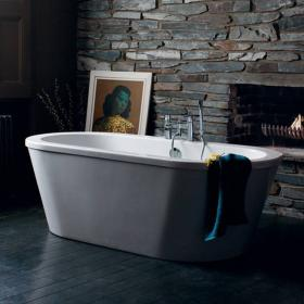 Britton Cleargreen Nouveau Flat Top Freestanding Bath