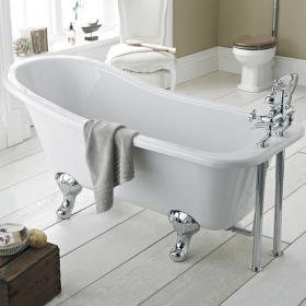 Photo of Old London Brockley 1700mm Single Ended Freestanding Bath