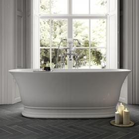 Photo of Old London Farringdon 1555mm Double Ended Freestanding Bath