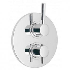 Vado Origins Twin Outlet Two Handle Thermostatic Shower Valve
