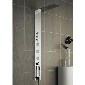Hudson Reed Guise Recessed Concealed Thermostatic Shower Panel