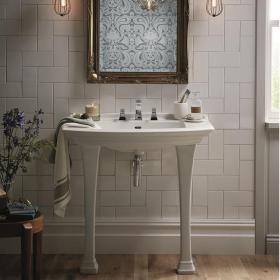Photo of Heritage Blenheim Console Basin & Legs