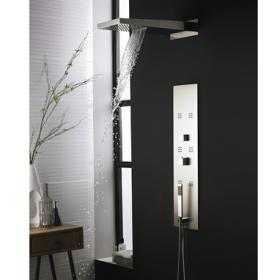 Hudson Reed Interval Recessed Thermostatic Shower Panel & Head