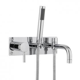 Hudson Reed Tec Wall Mounted Bath Shower Mixer With Kit